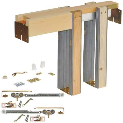Johnson Hardware Soft Close Pocket Door Frame Hardware