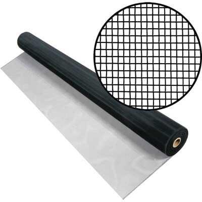 Phifer 36 In. x 100 Ft. Charcoal Aluminum Screen