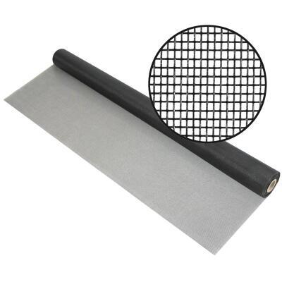 Phifer 72 In. x 100 Ft. Charcoal Fiberglass Pool Screen