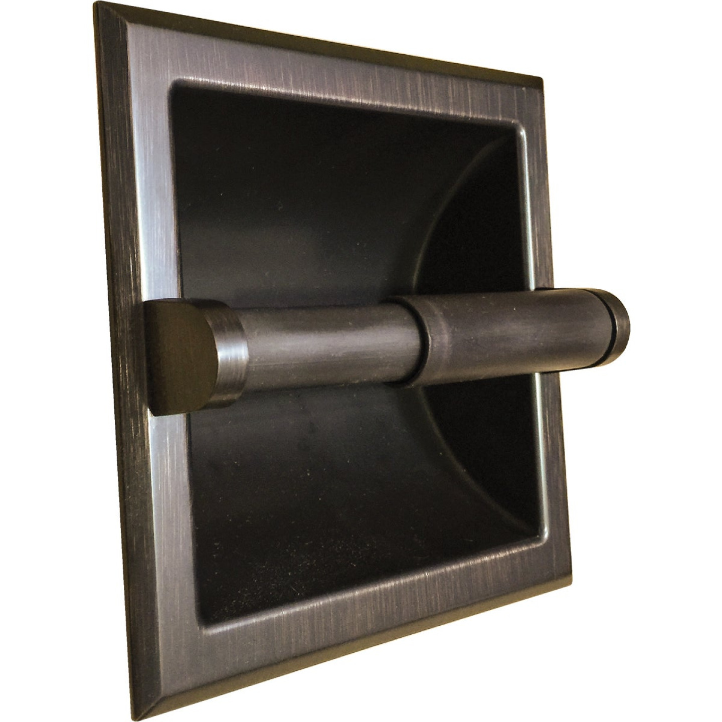 Home Impressions Aria Oil Rubbed Bronze Recessed Toilet Paper Holder Portage Lumber