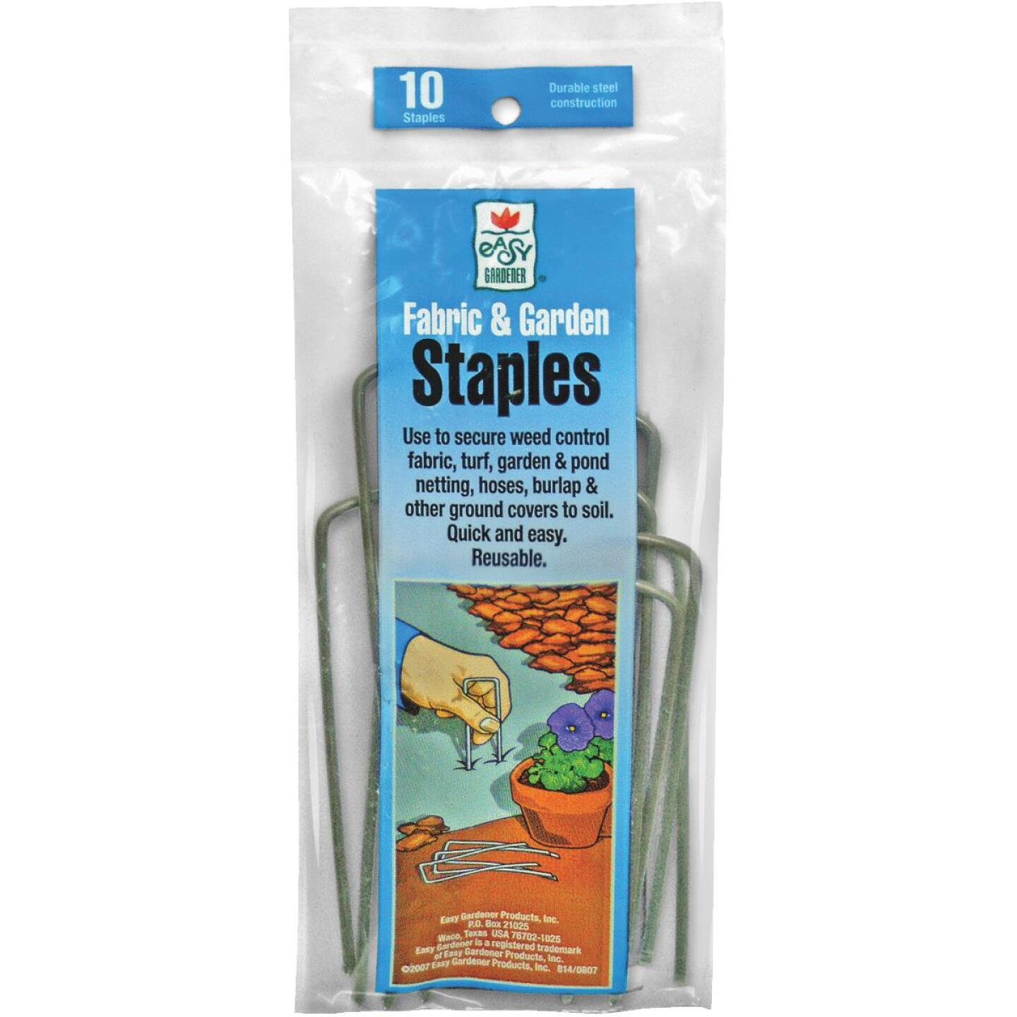 Easy Gardener Steel 3-5/8 In. Landscape Fabric Staple (10-Pack) Image 1