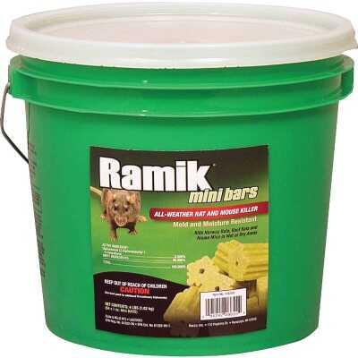 Ramik Bar Rat And Mouse Poison (64 per Pail)