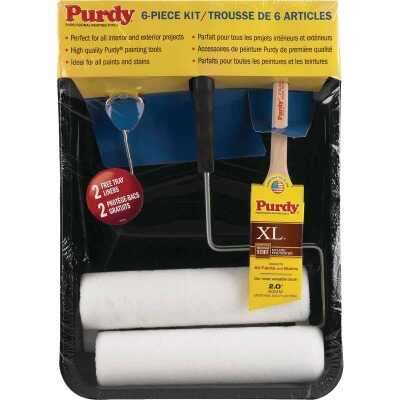 Purdy 9 In. 3/8 In. Woven Roller & Tray Set (6-Piece)